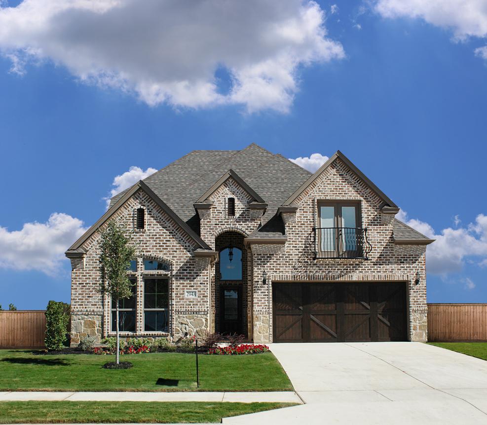 New Construction Brick Home: Trinity Custom Homes