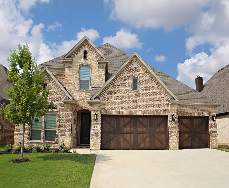 Floor plan 2958 trinity custom homes new homes in fort for Custom home plans texas